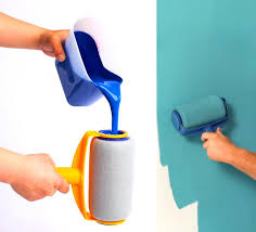 what type of paint roller to use on kitchen cabinets paint runner a non drip paint roller that stores paint