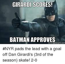 Batman Meme Generator - girardi scores batman approves memegenerator net nyr pads the