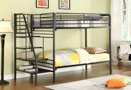 bunk beds bunk beds with ladder white loft bed with desk trundle