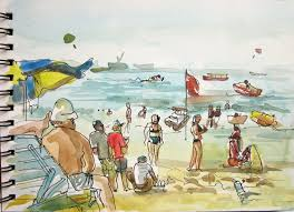 goa a week at the beach sketch away travels with my sketchbook