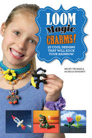 loom magic charms 25 cool designs that will rock your rainbow