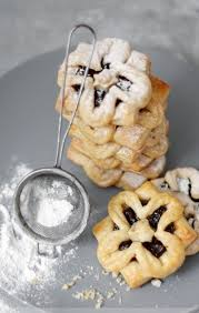 joulutorttu prune filled christmas cookie finland purevege