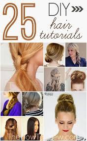 hair tutorials for medium hair 25 diy hair style tutorials hair pinterest diy hair long