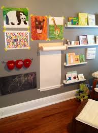 Corner Wall Art by Gender Neutral Nursery Possible Idea For
