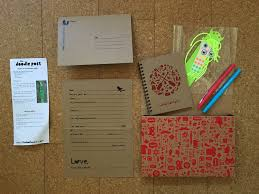 the doodle post made in canada craft subscription for kids