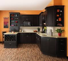 Kitchen Ideas With Black Cabinets Beautiful Design Using Dark Kitchen Cabinets Colors Lifestyle News
