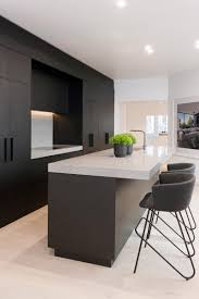 Matte Black Kitchen Cabinets Small Kitchen Design Black Kitchen Cabinets With Black