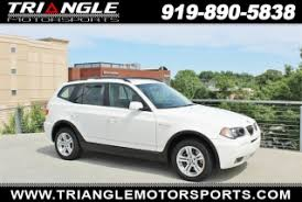 bmw x3 for sale used used bmw x3 for sale in cary nc 69 used x3 listings in cary