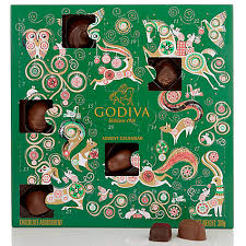 buy godiva advent calendar 285g john lewis