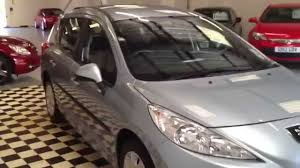 used peugeot estate cars for sale 2010 10 peugeot 207 1 6 sw 90s hdi estate sorry now sold youtube