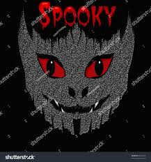 halloween continuous background red eyes background by