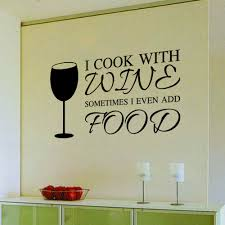 food quotes promotion shop for promotional food quotes on 9346 home decor diy wine a bit letters quote pvc wall art sticker dinning kitchen removable food decals