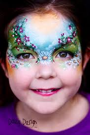 face painting by daizy design hire a professional face and painter christy lewis for your next birthday party or event