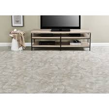 majestic light gray slate 18x18 2 0mm vinyl floor tile 10 tiles