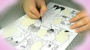 drawing manga page 3 sketch ink screentones youtube