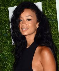 draya michele real hair length draya michele long curly casual hairstyle black