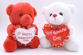 valentines day bears set of 2 happy s day and white heart 7 plush