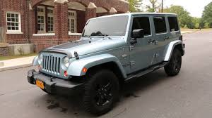 arctic jeep 2012 jeep wrangler unlimited rare arctic edition 1 of 1113