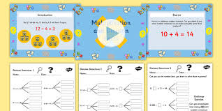 year 3 deriving multiplication and division facts task setter