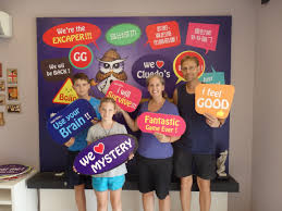 mystery room escape adventure family bucketeers go round the world