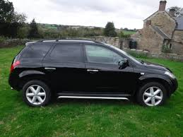 nissan murano old model second hand nissan murano 3 5 v6 5dr cvt for sale in chesterfield
