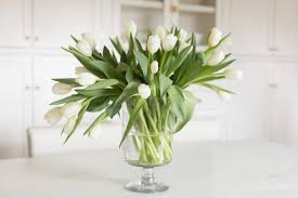white tulips how to arrange tulips a step by step tutorial to create your own