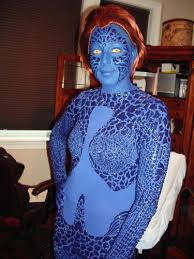 Mystique Halloween Costume Women U0027s Xmen Men Mystique Halloween Costume Handmade Theatrical