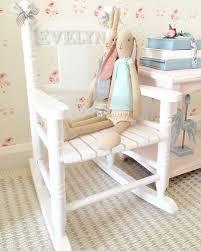 child s personalised rocking chair от hugshearts на