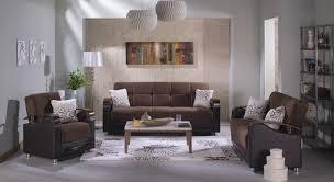 brown living room set luna convertible living room set in naomi brown by istikbal