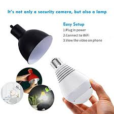 light bulb security system 1080p wifi ip camera bulb wireless hd home security camera system