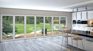 Folding Glass Patio Doors Prices by Exterior Bifold Doors Cost Exteriorwindows Doors Skylights