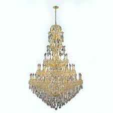 Cristal Chandelier by Gold Crystal Chandeliers Hanging Lights The Home Depot