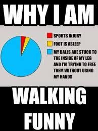 Injury Meme - 22 meme internet why i am walking funny sports injury foot is