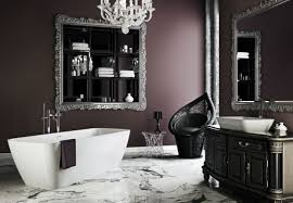 captivating gothic bathroom designs for dramatic ambience