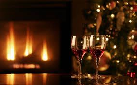 fireplace christmas music binhminh decoration
