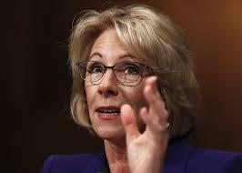 senators grill betsy devos on personal finances education