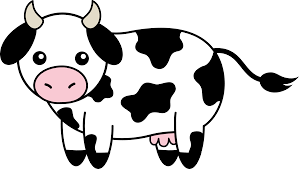 cow clipart black and white free clipart images clipartix