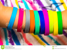 bracelet made from rubber bands images Rubber bands on hand girls hand with bracelets made of rubber b jpg