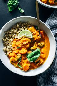 Thai Red Pumpkin Curry Recipe by One Pot Vegetable Thai Red Curry Making Thyme For Health