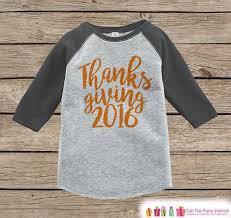 Thanksgiving Shirts For Toddler Boy Thanksgiving Children U2013 7 Ate 9 Apparel