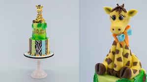 giraffe cake safari giraffe cake online cake decorating tutorials