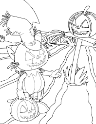 pumpkin coloring page handipoints