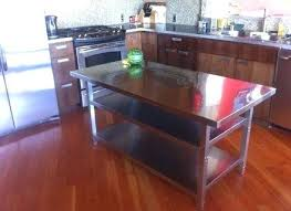 White Kitchen Island With Stainless Steel Top Steel Top Kitchen Island Liberty Kitchen Cart With Stainless Steel