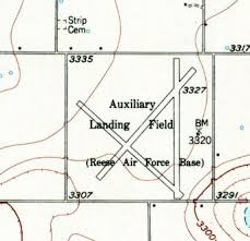 lubbock on map abandoned known airfields lubbock area