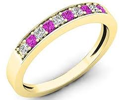 Pink Wedding Rings by Diamond Wedding Rings A Complete Buyer U0027s Guide