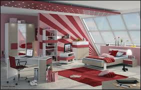 bedroom magnificent ideas in cream stripes wallpaper girls teen