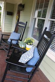 Outdoor Side Table Ideas by Front Porch Fair Ideas For Front Porch Decoration Using Round