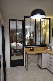 table d appoint cuisine ensemble verrière et table black citrus studio de création de