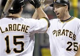 adam and andy laroche are savoring time together as pirates