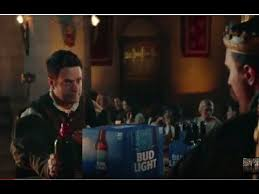 bud light commercial 2017 bud light commercial 2017 banquet dilly dilly why is this funny